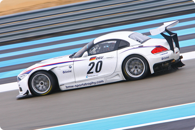 First Z4 Gt3 Spotted