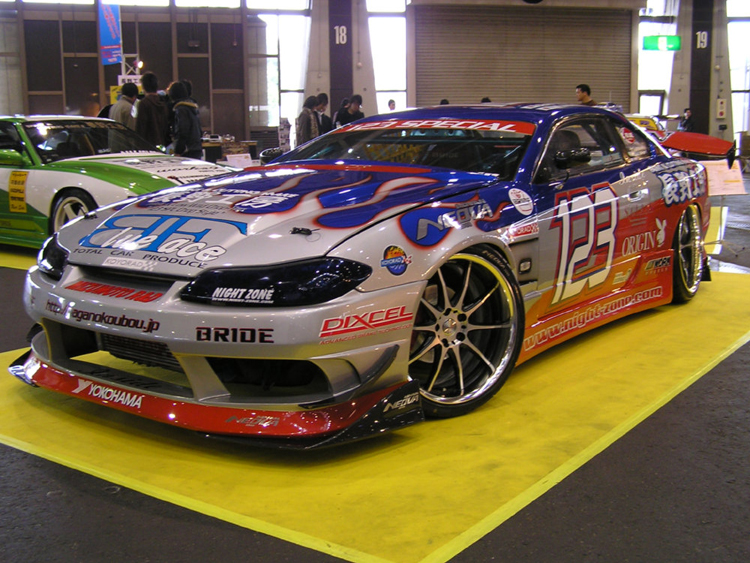 "This ""Chop Style"" S15 Silvia"