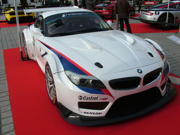 Z4 GT3 in Paris GT1 World Championship launch event